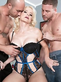 Classic FMM threesome pics- hot gangbang collection