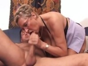 Long mature fetish tube