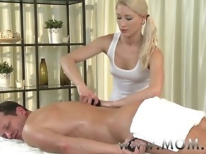 Blonde MILF enjoys a hard fuck