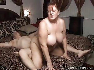 Beautiful busty mature BBW loves a hard fucking