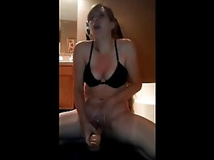 Mature Milf Big Nipples Dildo Orgasm