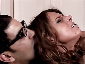Humilated German Huge-Boobs-Milf hard anal taken