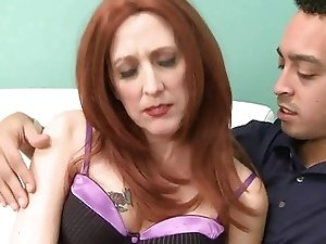 My 53yr old Redhead Granny Fuck Friends 1st Pro Video