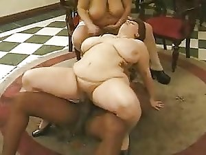 Great BBW Orgy Part 3