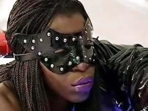 Black mature orgy in latex - free sex tube